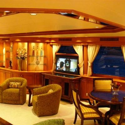 Sojourn Yacht Interior Seating