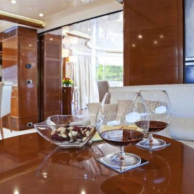 Harmony III Yacht Upper Deck Salon