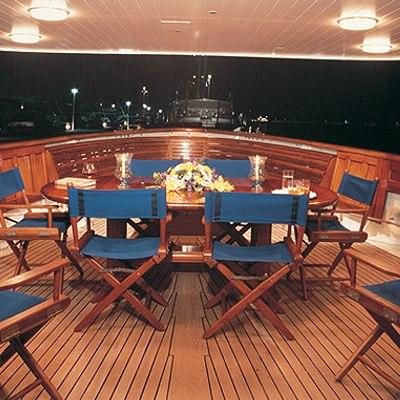 Fair Lady Yacht Exterior Dining