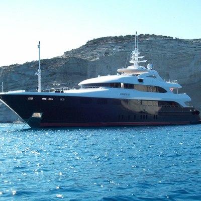 O'Neiro Yacht Side View