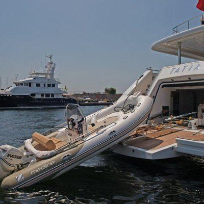 Tatiana I Yacht Tender Launch