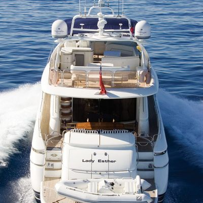 Lady Esther Yacht Stern View