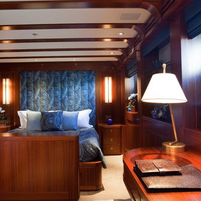 Blind Date Yacht Blue Guest Stateroom