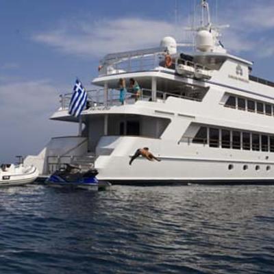 Ionian Princess Yacht Stern