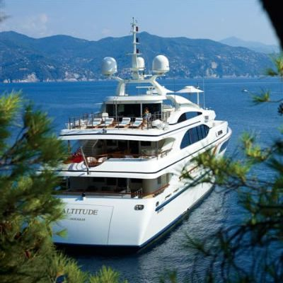 Lady Michelle Yacht Rear View
