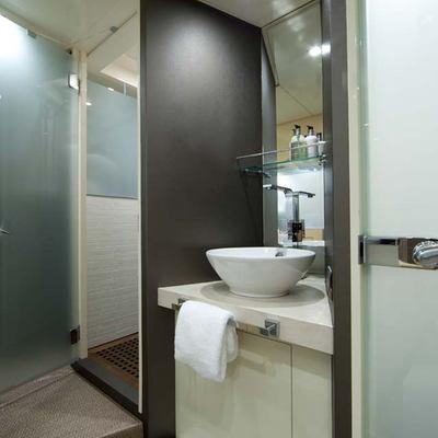 Daloli Yacht Guest Bathroom