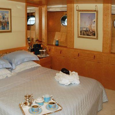 Bella Stella Yacht Blue Guest Stateroom