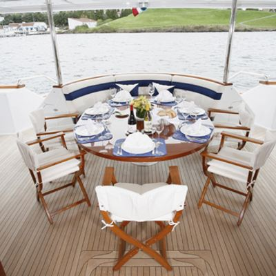 Skyetyme Yacht Aft Deck