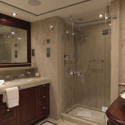 My Little Violet Yacht Master Bathroom