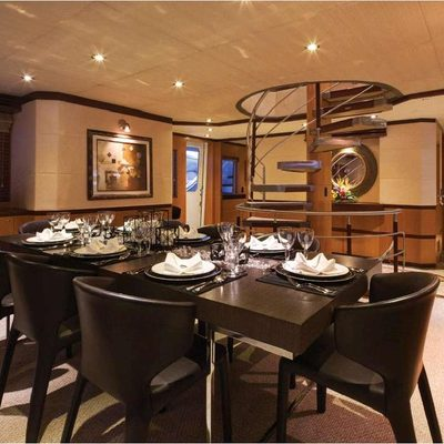 Chosen One Yacht Dining Salon