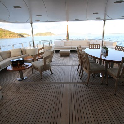 Brunello Yacht Upper Deck