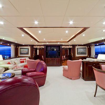 Sophie Blue Yacht Main Salon - Screen