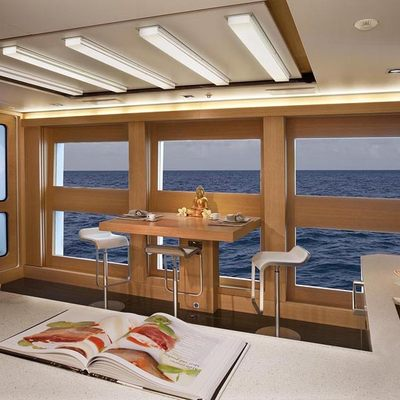 Big Fish Yacht Galley Seating
