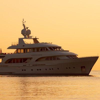 Northlander Yacht Sunset Profile