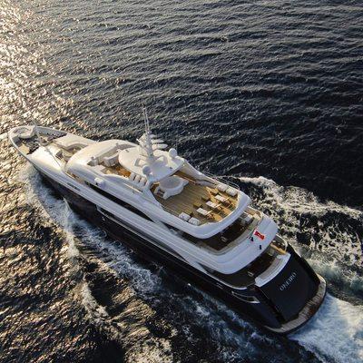 O'Neiro Yacht Running Shot - Rear View