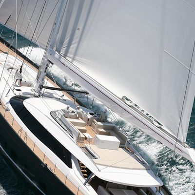 Red Dragon Yacht Aerial Deck View