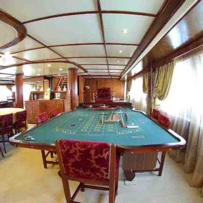 Blue Dawn Yacht Card Table