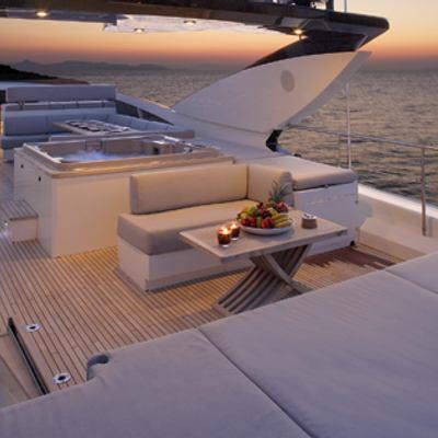 Dragon Yacht Jacuzzi View