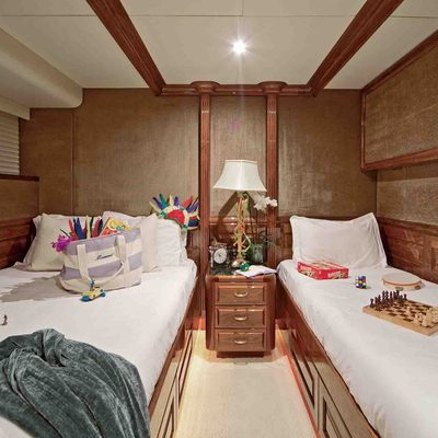 One More Toy Yacht Twin Stateroom - Blue
