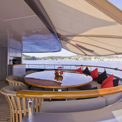 Silver Dream Yacht Main Deck