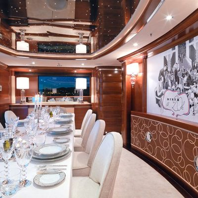 Latitude Yacht Dining Salon