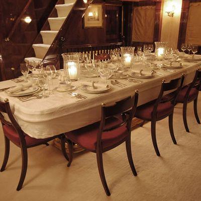 Kalizma Yacht Dining Salon