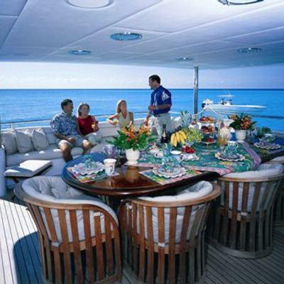 Serenity Yacht Aft Deck