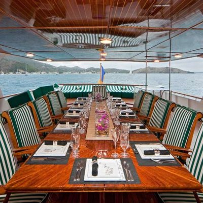 Big Eagle Yacht Alfresco Bridge Dining