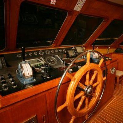 Secret Life Yacht Wheelhouse
