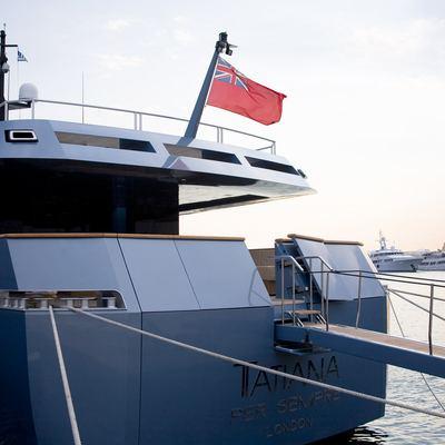 Seakid Yacht Moored - Stern