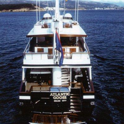 Atlantic Goose Yacht Transom