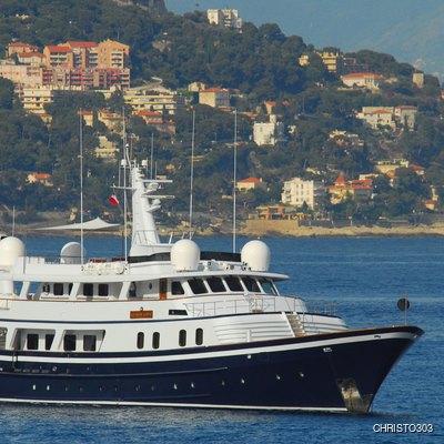 Atlantic Goose Yacht Side