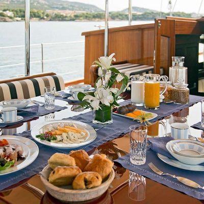 Gweilo Yacht Breakfast Set