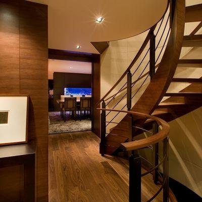 Odessa Yacht Stairwell & Dining