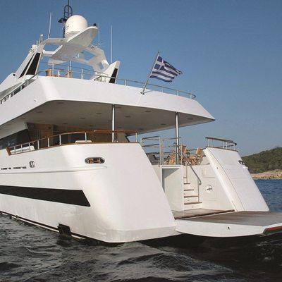 Bella Stella Yacht Swim Platform Extended
