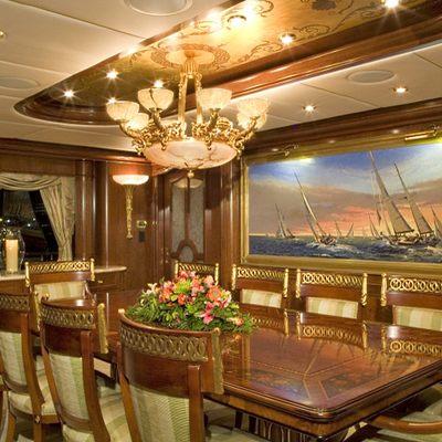 Aquasition Yacht Formal Dining