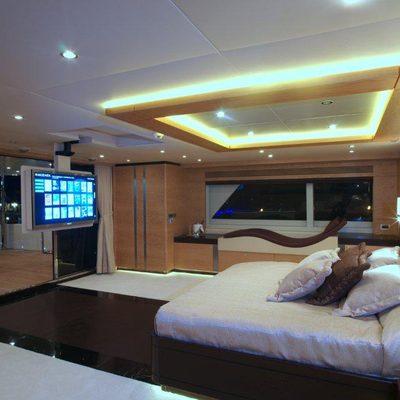 Tatiana Yacht Master Stateroom - Screen