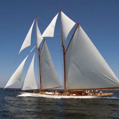 Germania Nova Yacht Main Profile - Sails