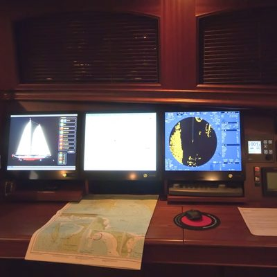 Athos Yacht Bridge - Instruments