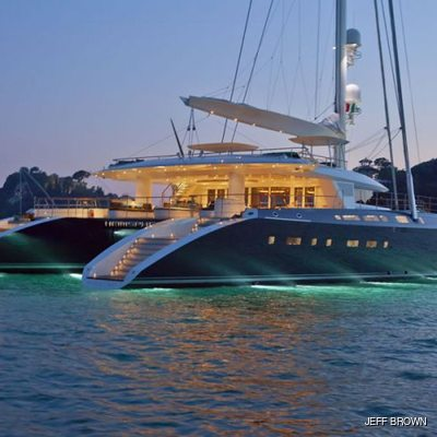 Hemisphere Yacht Profile - Night