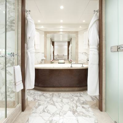 La Tania Yacht Master Bathroom