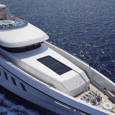 Megan Yacht Aerial View