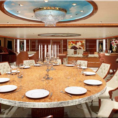 Diamonds Are Forever Yacht Formal Dining