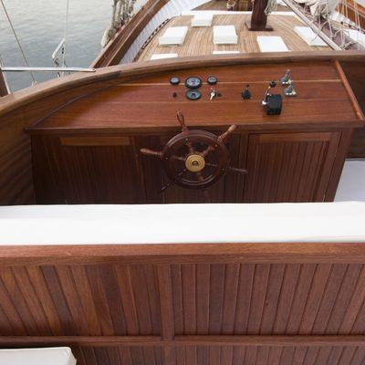 Matina Yacht Upper Deck
