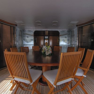 CD Two Yacht Upper Deck Dining
