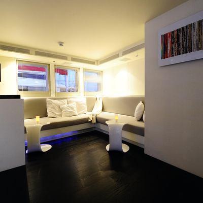 Berzinc Yacht Upper deck relaxing corner