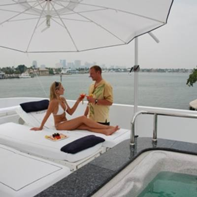Milk and Honey Yacht Jacuzzi & Seating