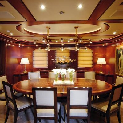 Athena Yacht Dining Salon