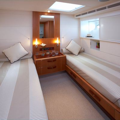 A Sulana Yacht Guest Stateroom