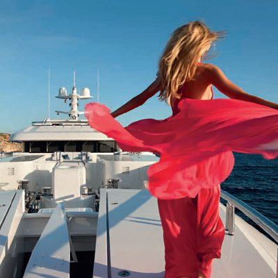 Sycara V Yacht Top Deck